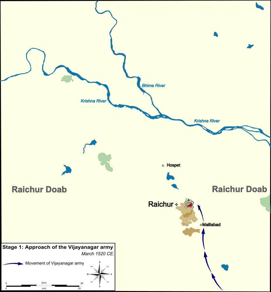 Battle of Raichur (6/6)