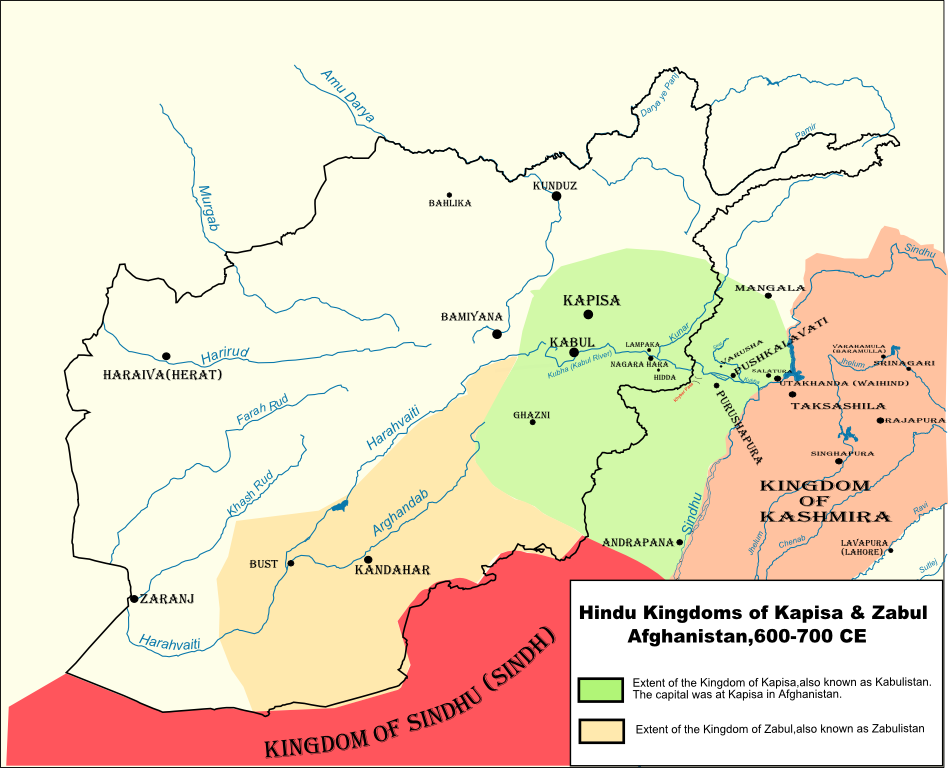 Kabul Shahi-The Hindu Kings of Kabul & Zabul