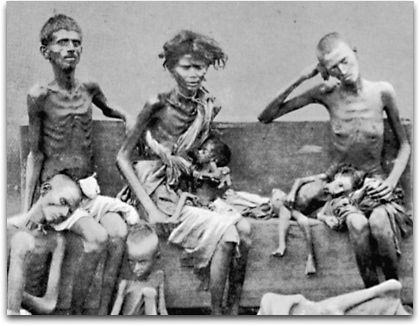 An Explanatory note on the Famines in India « Jambudveep's Blog