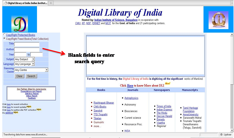 Tutorial on Converting books on the Digital Library of India website from TIFF to PDF (1/6)